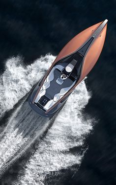 LEXUS sport yacht concept brings luxury car design to the watercraft Sport Yacht, Yacht Boat, Yacht Design, Boat Design, Luxury Yachts, Luxury Cars, Lexus Sport, Wooden Speed Boats, Boat Fashion