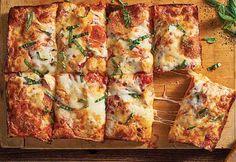 No-Knead Deep-Dish Pizza Recipe