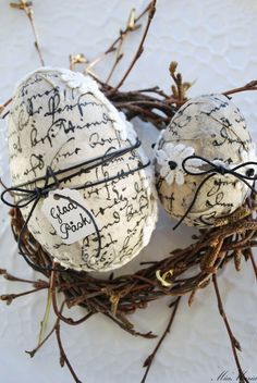 56 Inspirational Craft Ideas For Easter Daily update on my website: iliketodecorate.com