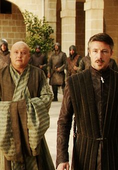 Varys and Petyr Baelish - Game of Thrones ~I really like these two... likable but can't tell if they should be or not.~