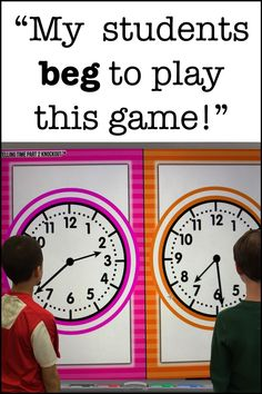 time games grade * time games + time games grade + time games for grade + time games for kids + time games free Telling Time Games, Telling Time Activities, Teaching Time, Teaching Math, Math Activities, Maths, Second Grade Math, 4th Grade Math, 2nd Grade Math Games