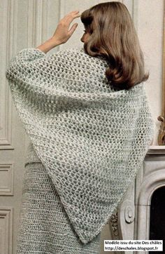 Need a gift for a tennis player✩ Stop searching and get inspired now! ✩ Check out this list of creative present ideas for tennis players and lovers Poncho Crochet, Vintage Knitting, How To Look Pretty, Retro Fashion, Crochet Patterns, Collection, Shawls, 1975, Chiffons