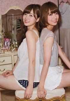 asheron02: Shiraishi Mai・Hashimoto Nanami | Nogizaka46 × Weekly Playboy 2015