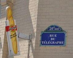 rue du Télépgraphe - Paris 20ème