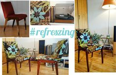 How to renovate old chair? Check it out on my blog http://refreszing.blogspot.com/2015/01/diy-stare-krzesa-w-kwiecistym-wydaniu.html