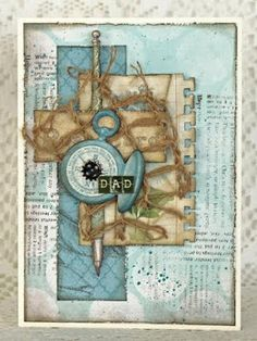 Cardabilities: Sketch Reveal - Sponsor with Flying Unicorn Site Design, Masculine Cards, Fathers Day, Vintage World Maps, Unicorn, Card Making, Sketches, Scrapbook, Florida Usa
