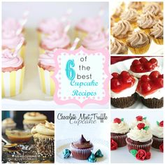 Sweet! Try these amazing cupcake recipes!! www.skiptomylou.org