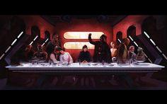 """La Última Cena"" _Da Vinci_ Star Wars"