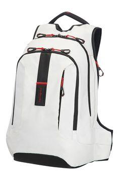 NEW - Samsonite Paradiver Light Laptop & Tablet Backpack White Backpack With Wheels, Backpack For Teens, Backpack Bags, Kit Mochila, Modern Backpack, 17 Inch Laptop, Laptop Rucksack, Computer Bags, Cool Backpacks