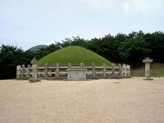 경주 김유신 징군 묘 General KimYu-shin's Tomb, Kyungju, Korea