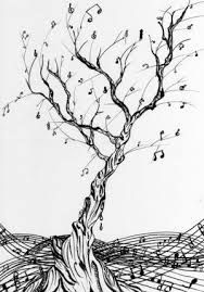 Image Result For Music Notes Drawings Tumblr Burhani Music Tree