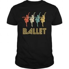 Awesome Tee Retro Ballet Dance Pop Art  Unisex LaceUp Hoodie T-Shirts