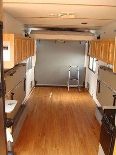 Interior Design Ideas For Camper Van Organization02
