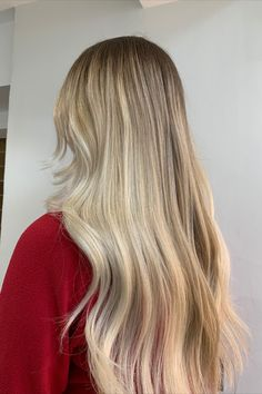 Blonde Balayage, Gorgeous Hair, Hair Makeup, Long Hair Styles, Beauty, Awesome Hair, Hair Styles, Long Hair Hairdos, Party Hairstyles
