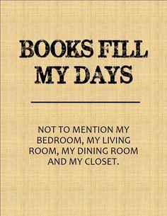 books fill my days