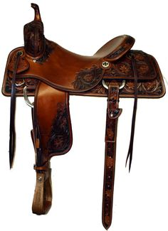 (Love the color!) Sean Ryon Cutting Saddle. Be still my heart (yup I'm swooning over this one).