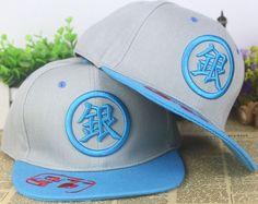 Gintama Anime Snapback Baseball Anime Hat - OtakuForest.com