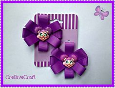Abby Cadabby Hair Clips by Cre8iveCraft on Etsy, $5.00