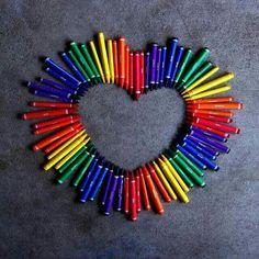 L'amore è di mille colori,ognuno a il suo