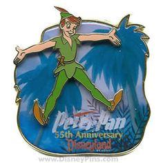 Peter Pan 35th Anniversary Pin