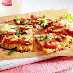 Blumenkohl-Pizza selber machen - so geht's