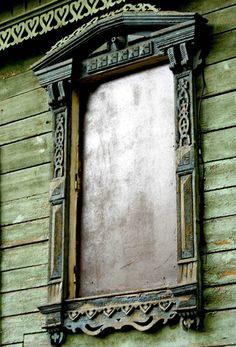 Russian Decorative Window Framing