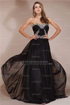 Sheath/Column Strapless Sweetheart Chiffon Evening Dress - IZIDRESSES.COM at IZIDRESSES.com