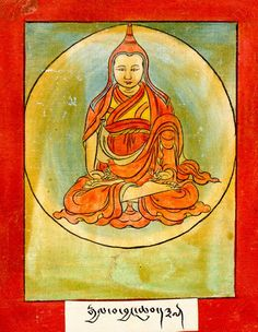 Gyalwa Jangchub. One of the eight self-mastered scholars, ordained with six other Tibetans by Shantarakshita, he was an exemplary monk, studied closely with Padmasambhava, rich in empowerments. He visited India many times and translated numerous texts. Able to fly through the sky, he was present at the departure mandala which gathered around the Guru for 21 days at a place called Multi-colored Dragon to clarify details and receive final instructions.