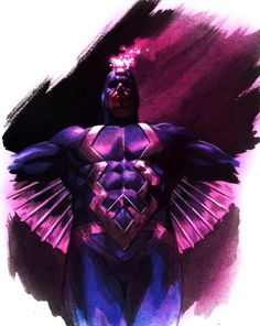 Black Bolt Artwork