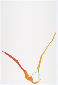 MoMA | The Collection | Helen Frankenthaler. Untitled from What Red Lines Can Do. 1970