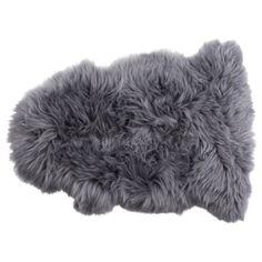 Genuine Sheepskin Double, Grey
