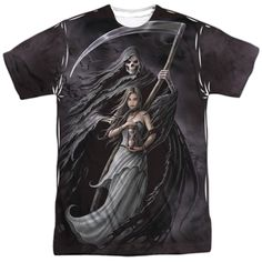Anne Stokes Collection: Summon The Reaper Sublimated T-Shirt