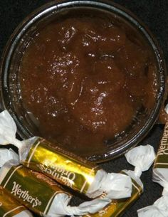 Everyone loves Caramel Apple Butter. I made large batches and cooked it all down in my crock pot. Easy peasy. I canned mine in cute little jelly jars and gave them as gifts. Tasty on toast or biscuits but equally good in a bowl of oatmeal.