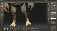 Polypainting a model in Zbrush series: Part 1
