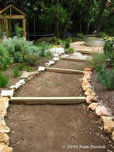 Share Tweet Pin Mail What joy in the completion of a long-delayed project! I'm not speaking of the narrow side garden itself, which is ...