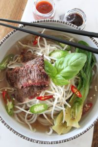 Get this delicious recipe for Beef Pho Broth from Chef Ronnie Woo. Fun Easy Recipes, Easy Meals, Pho Broth, Good Food, Yummy Food, Asian, Soup And Salad, Beef Recipes, Stew