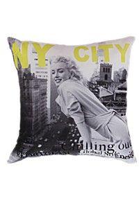 CUSHION 50X50 Marilyn Monroe Bedroom, Urban Looks, Cushions, Throw Pillows, Street, Marilyn Monroe Room, Toss Pillows, Toss Pillows, Pillows