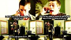 Teen Wolf quotes - lol Hes my favorite :) favorite-quotes