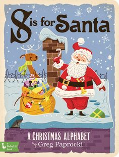 BabyLit - S is for Santa available for $9.99 at The Green Nursery with Free Shipping Available.