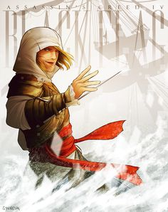 AC - Edward by Synnesai.deviantart.com #AssassinsCreed