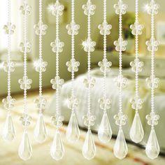 crystal bead curtain - http://zzkko.com/n71134-enuine-special-plum-bead-curtain-crystal-curtain-curtain-off-the-entrance-21x20x5mm-MS002-wind.html $0.75