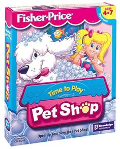 Fisher-Price Time To Play Pet Shop - PC this was one of my favorite games ever when I was a kid