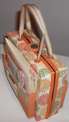 Top Note Purse Instructions,  Wow this is amazing - tutorial  Stampin' Up!
