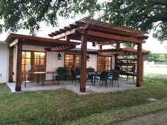 """Build the pergola you saw on HGTV's """"Fixer Upper"""" with these project plans from OZCO!"""