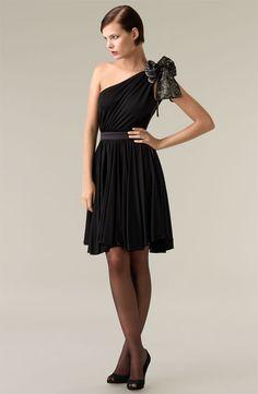 one shoulder dress | Jersey One Shoulder Dress, Nordstrom , $535