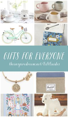 Shop beautiful gifts for everyone on your list this year! // Gift Guides by The Inspired Room