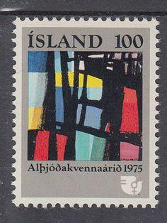 Iceland 1975 stamp, International Women's Year