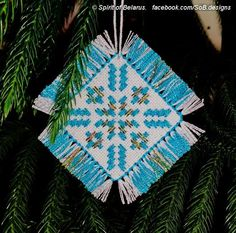 Looking for your next project? You're going to love Snowflake Christmas Ornament  by designer Spirit of Belarus.