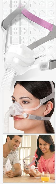 ResMed AirFit™ N10 For Her Nasal CPAP Mask #product_design
