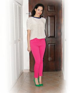 How to wear my brand new pink pants